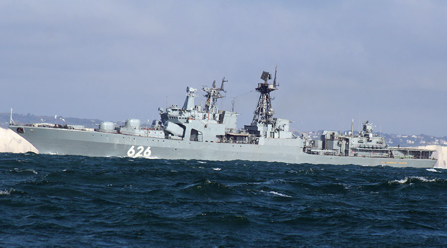 The anti-submarine warfare (ASW) ship Vice Admiral Kulakov. © Dover-Marina.com