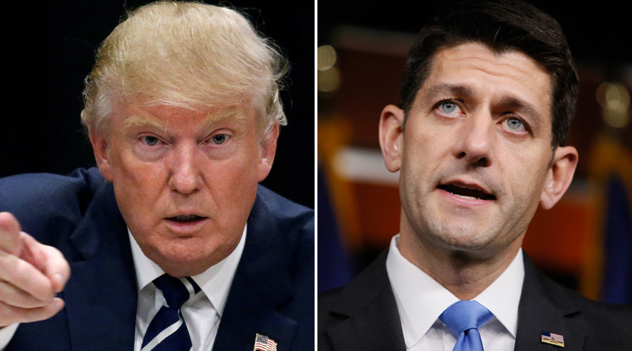 President-elect Donald Trump (l), US Speaker of the House Paul Ryan (r) © Jim Bourg, Carlo Allegri