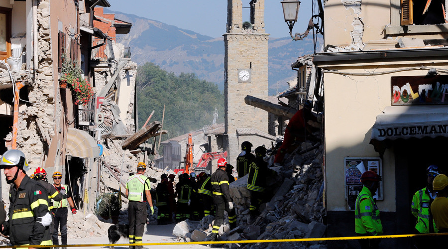 Putin was first to offer help after earthquake, not bureaucratic EU – Italian journalist
