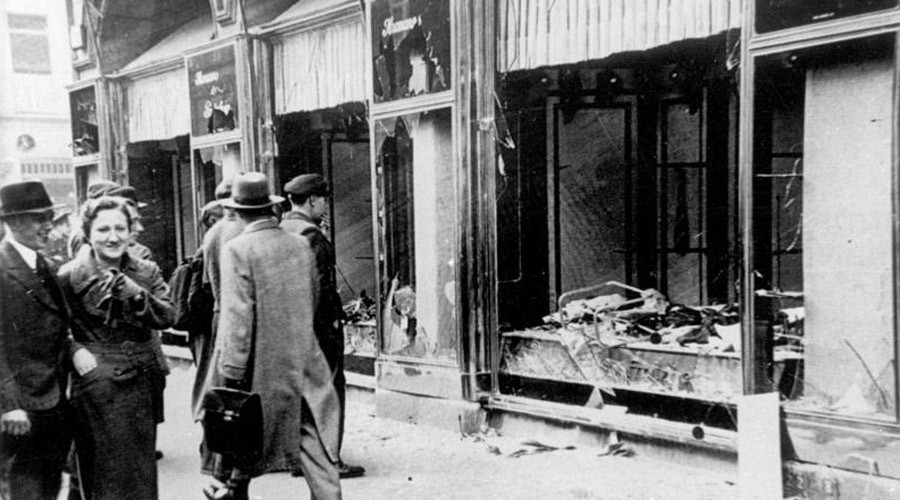 German neo-Nazis list Berlin's Jewish sites on anniversary of 1938 Kristallnacht pogroms
