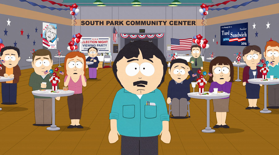 'Almost first gentleman': 'South Park' episode quickly rewritten for shock Clinton defeat (VIDEO)