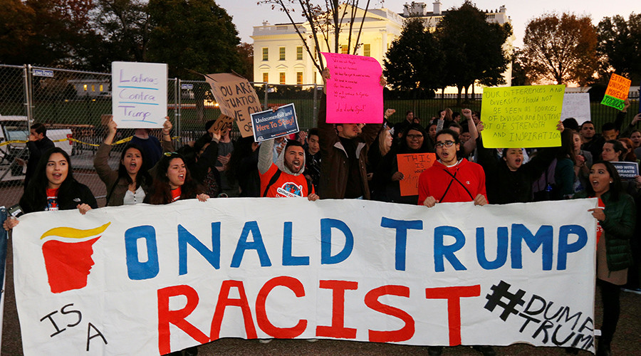 Second night of protests sweep nation following election of Donald Trump (PHOTO, VIDEO)