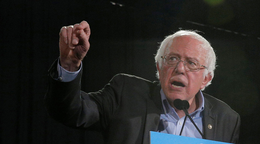 'His worst nightmare': Sanders threatens Trump over minorities