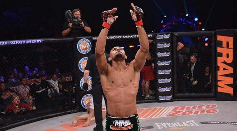 Andrey Koreshkov knocked out by Douglas Lima at Bellator 164