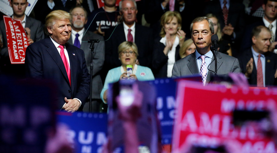 Nigel Farage 'irrelevant' to UK-Trump relationship, says defensive Downing Street