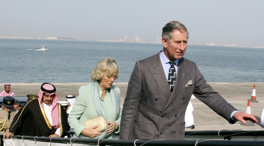 File photo: Britain's Prince Charles and his wife Camilla during a visit to Manama, Bahrain, February 25, 2007. © Hamad Mohammed