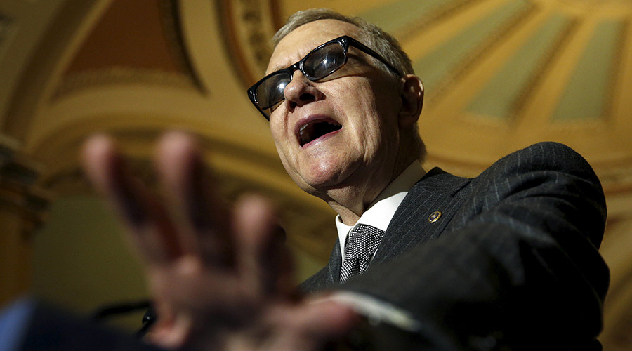 U.S. Senate Democratic Leader Harry Reid © Kevin Lamarque