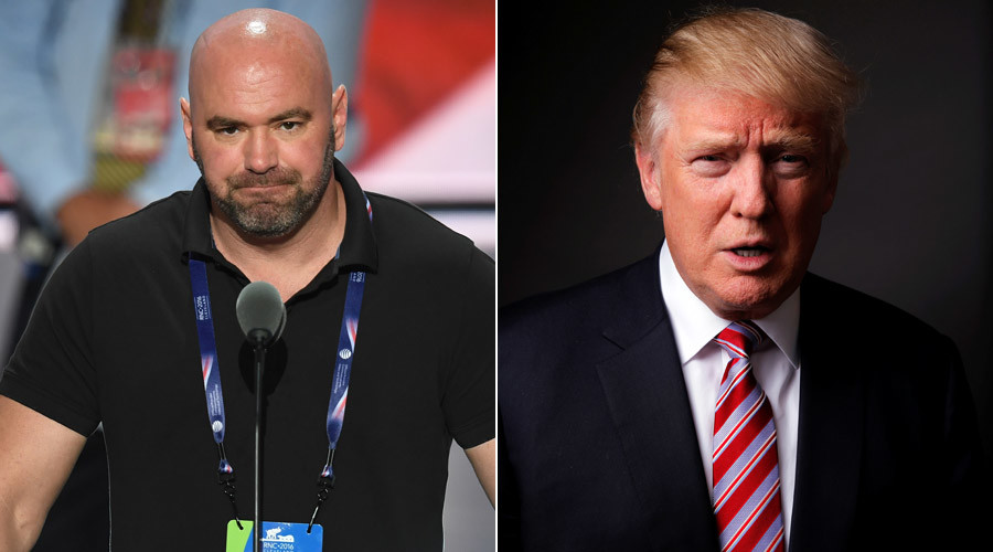 Dana White confirms Trump won't attend UFC 205