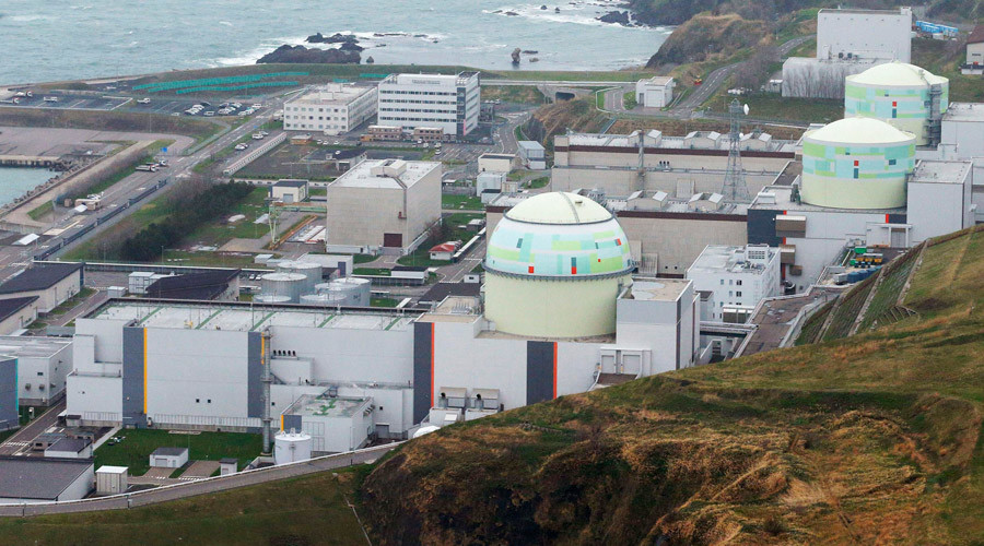 Japanese nuclear plant holds tsunami & meltdown drills