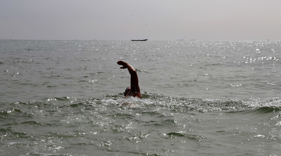 From Senegal to Brazil: British man attempts record breaking swim across Atlantic Ocean