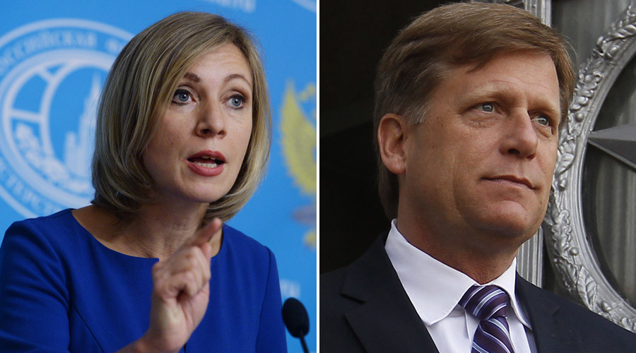 Former ambassador McFaul 'deliberately marred US-Russian relations' – Russian FM spokeswoman