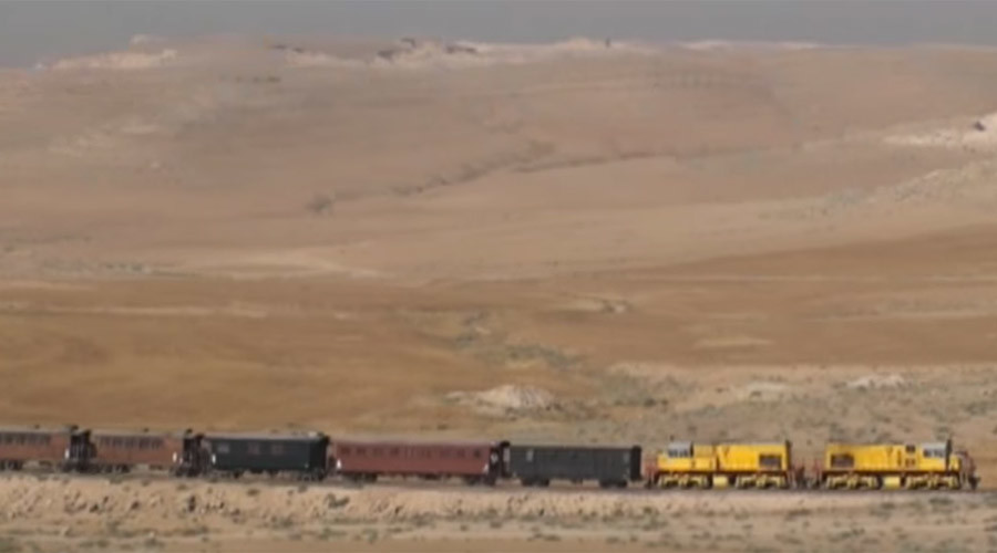Russian specialists rebuild Syrian railroad to enable vital aid deliveries