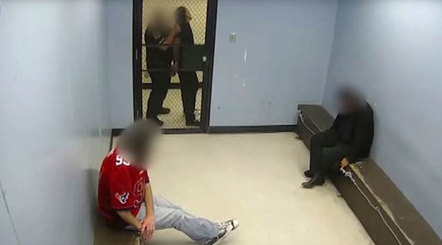 Houston officer who 'head-smashed' handcuffed man faces federal civil rights lawsuit (VIDEO)