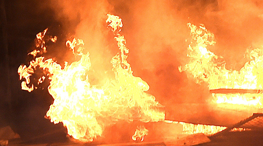 Mother & 5 children killed in fire in central Russia