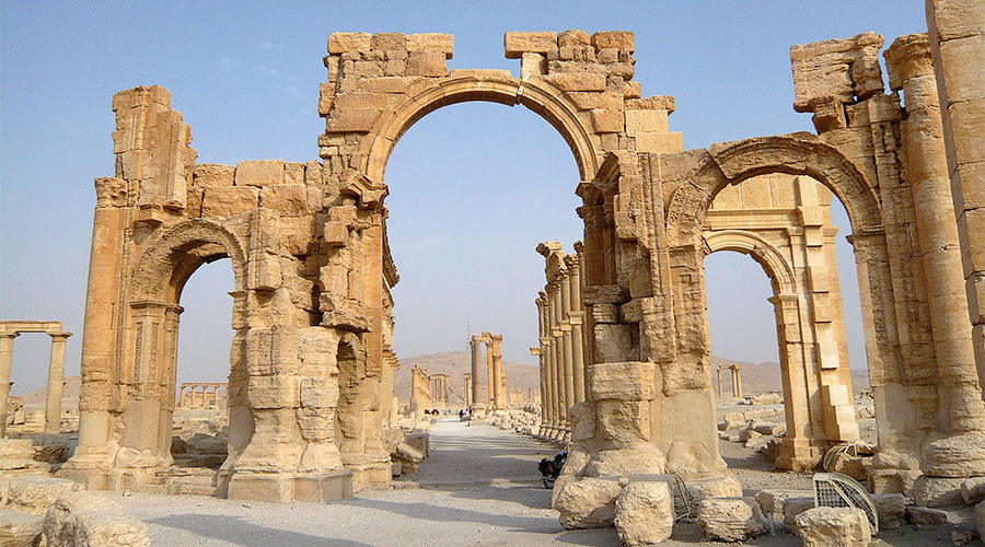 Palmyra in 360: RT travels to 2,000yo gem rescued from ISIS