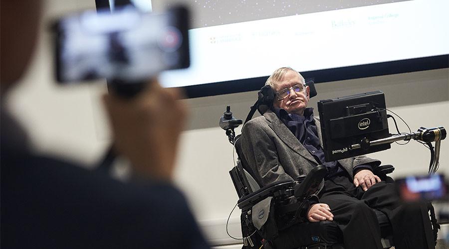 British scientist Stephen Hawking © Niklas Halle'n