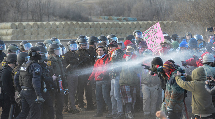 Anti-DAPL protesters hold 'Day of Action' across US
