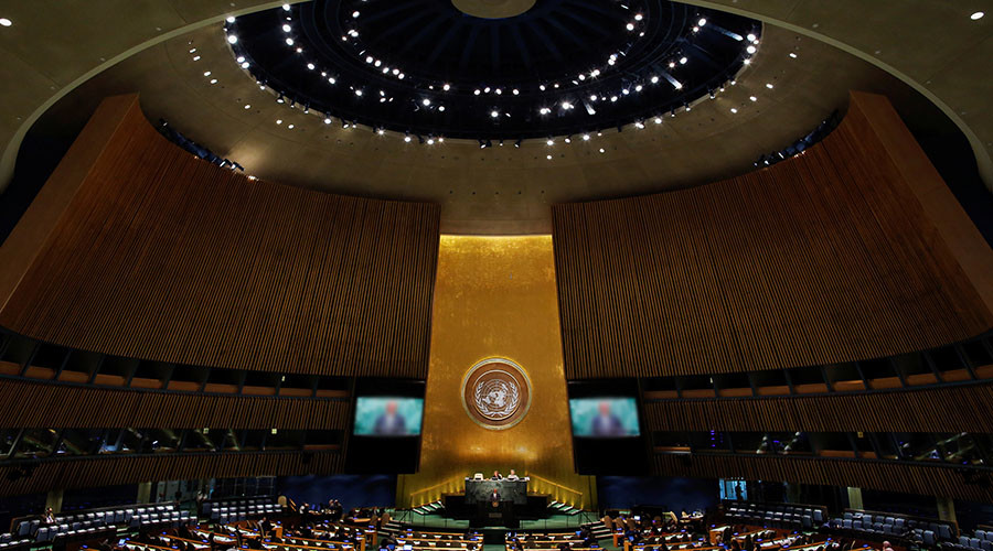 'Nothing to do with reality': Moscow slams Ukraine-sponsored Crimea resolution passed by UN