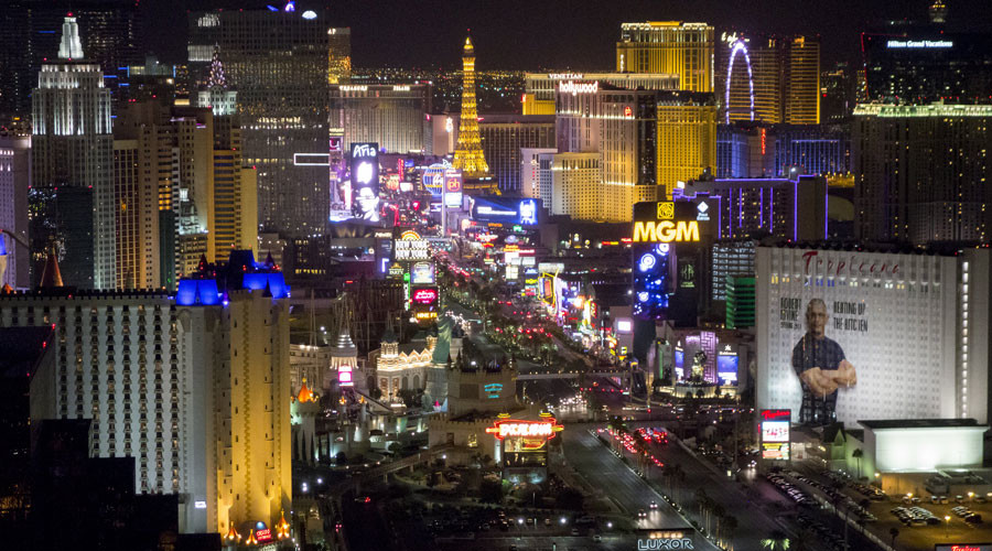 Kinetic lighting & street phone chargers: Footfall to power Las Vegas (VIDEO)