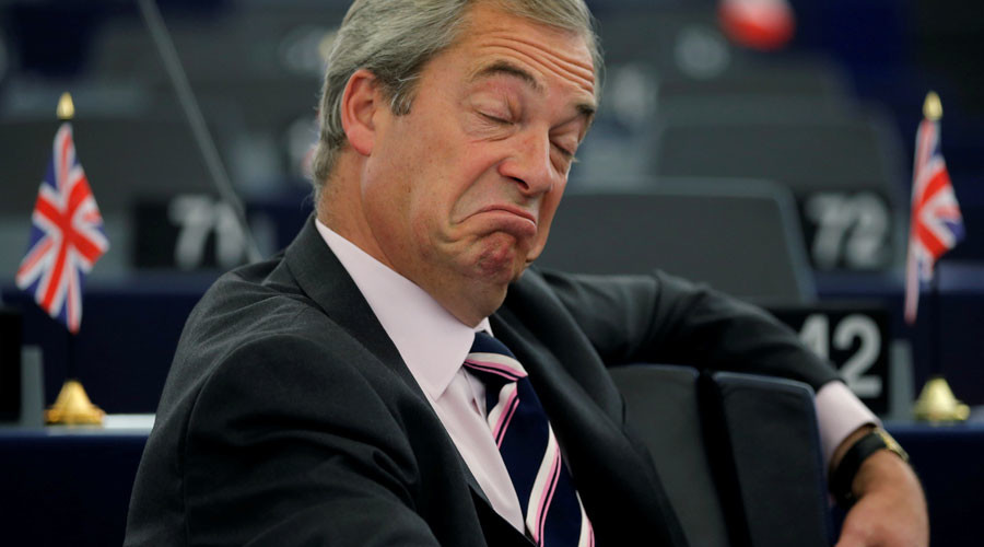 Is UKIP head Farage about to become 'Lord Nigel' to boost Britain's relations with Trump?