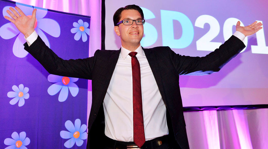 Far-right Sweden Democrats neck-and-neck in poll with 2nd most popular party