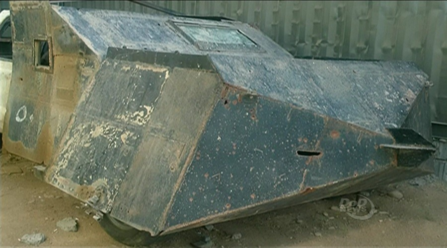Captured 'Mad Max' type vehicle becomes central to battle against ISIS