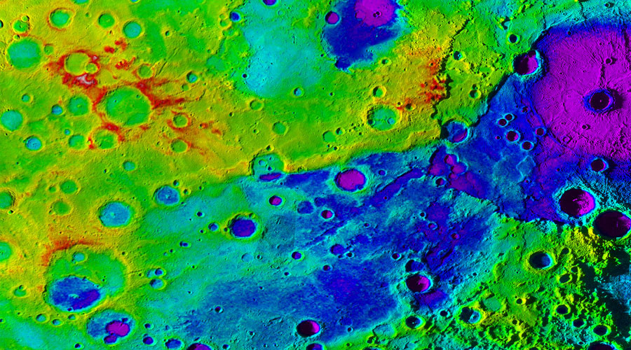 Shrinking planet: Discovery of Mercury's 'great valley' indicates global contraction