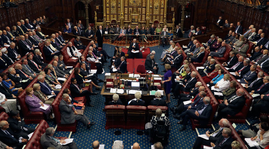 Theresa May shelves plans to strip House of Lords of veto powers… for now