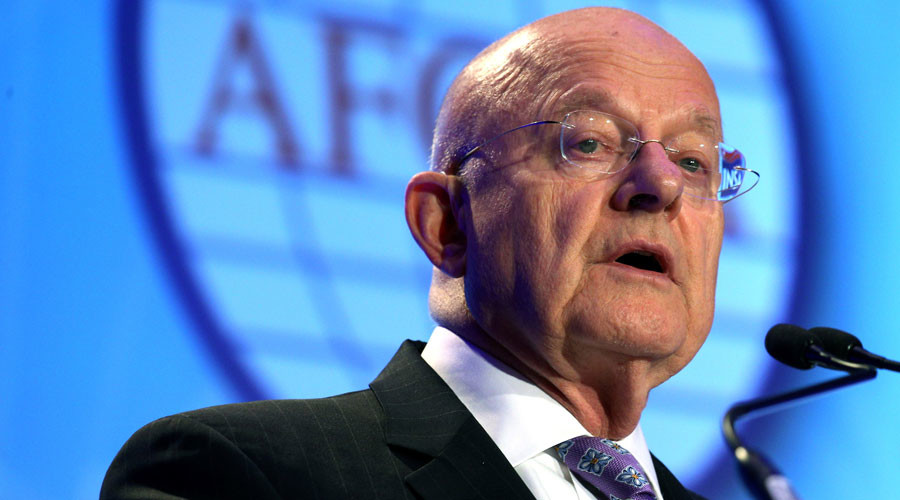 US intelligence head James Clapper resigns