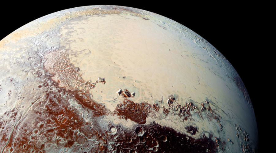 Pull on Pluto's 'icy heart' shifted dwarf planet's axis – studies