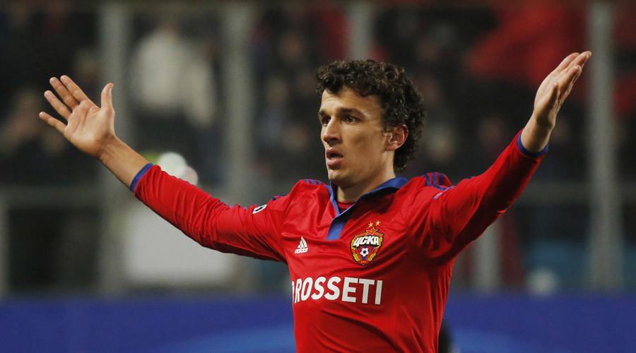 CSKA Moscow midfielder Roman Eremenko gets 2-year UEFA drug ban