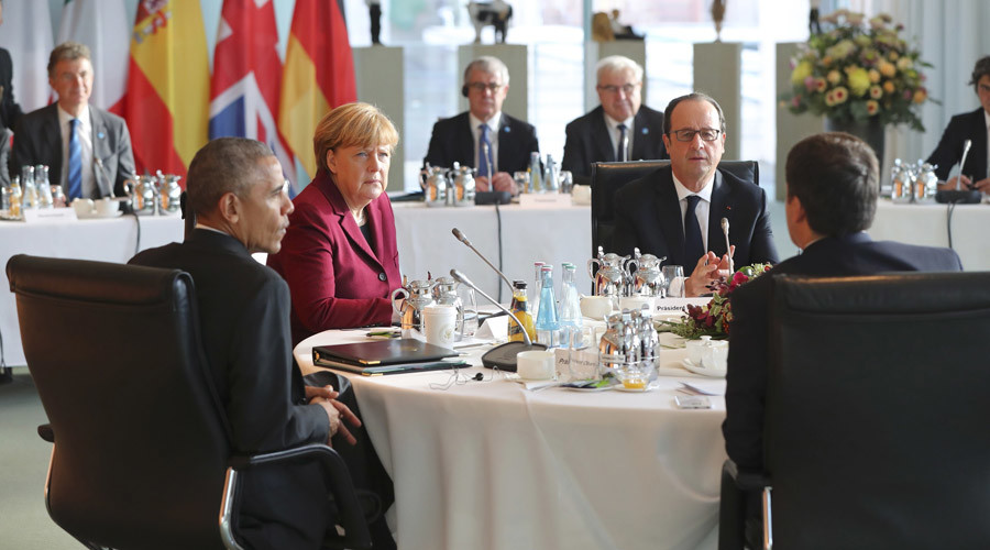 Obama, EU leaders agree to keep anti-Russian sanctions over Ukraine