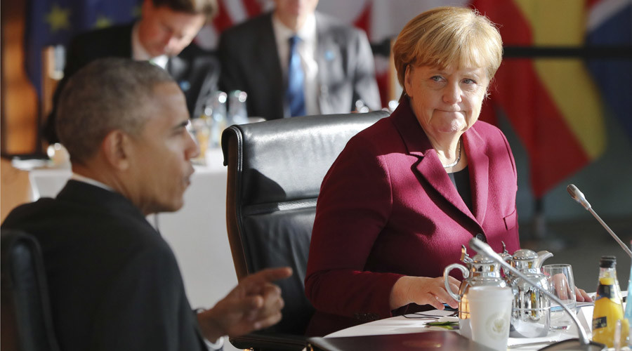 Merkel admits Europe-US free trade deal is dead