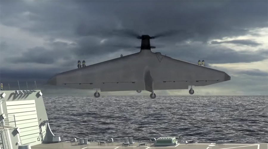 DARPA funds second prototype of new sea drone (VIDEO)