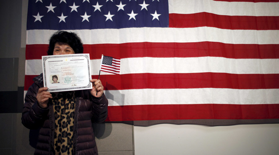 Judge At Citizenship Ceremony: Don't Like Trump? 'Go To Another Country'