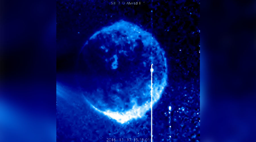Mysterious 'sphere' spotted in NASA's Sun images not so bizarre after all (VIDEO)