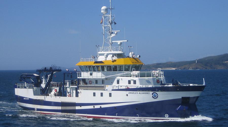 British Navy ship fires 'warning' flares at unarmed Spanish vessel in standoff near Gibraltar