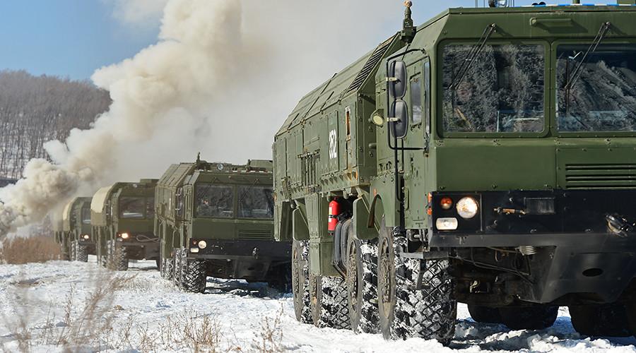 Tactical short-range ballistic missile systems Iskander-M © Sergey Orlov