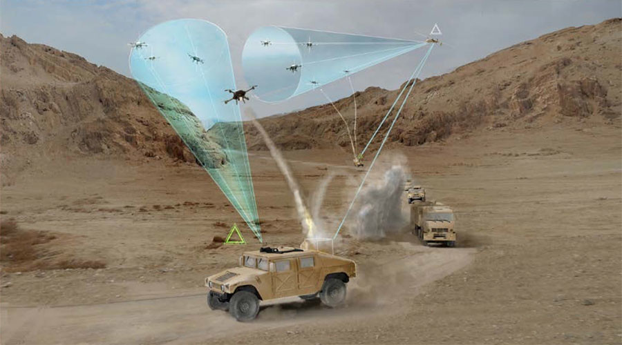 DARPA looks at 'drone defense' for convoys