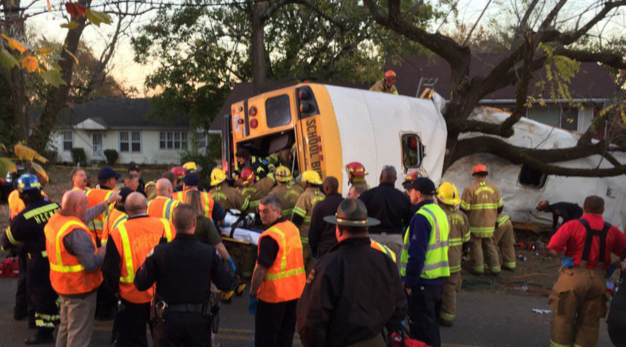 'Worst nightmare': Multiple children killed in school bus crash in Tennessee