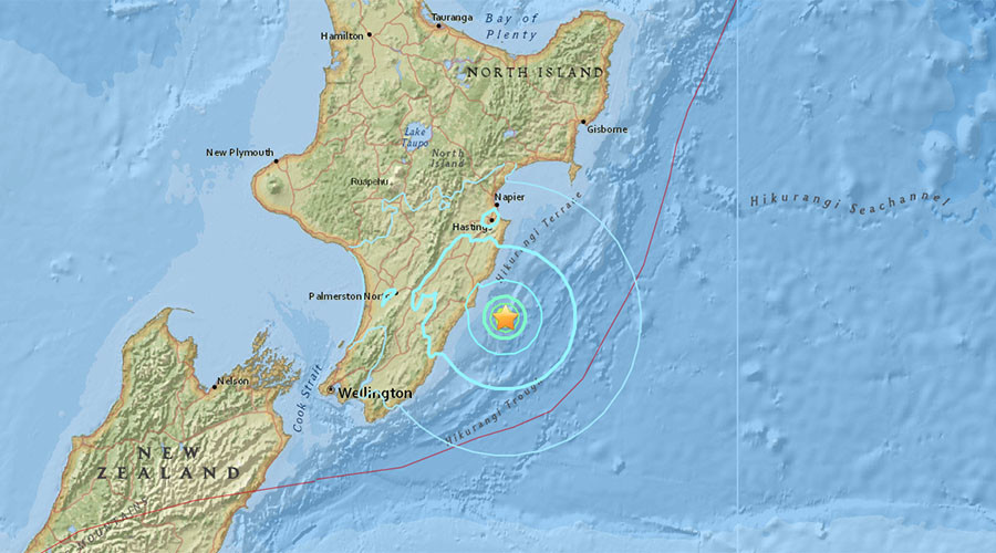 6.0 quake shakes New Zealand's North Island