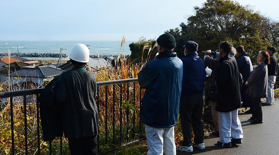 Thousands flee tsunami after 7.4 quake, powerful aftershocks strike off Fukushima
