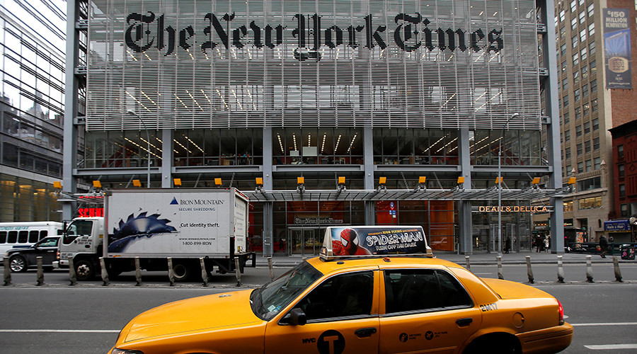 Trump cancels interview with 'not nice' NY Times at last minute, then changes mind (UPDATED)