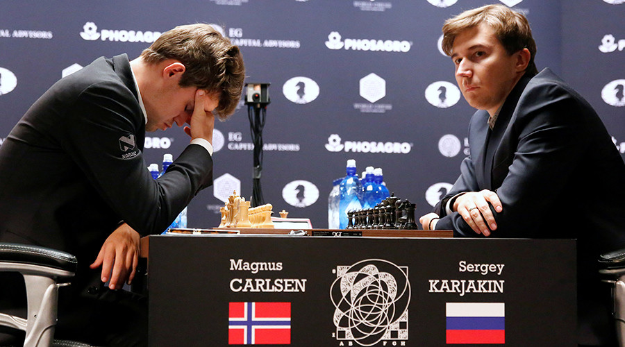Karjakin causes Carlsen meltdown after Chess World Championship battle