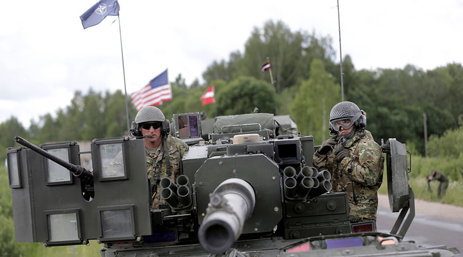 NATO force on Russian border 'not a threat in any way' – State Department
