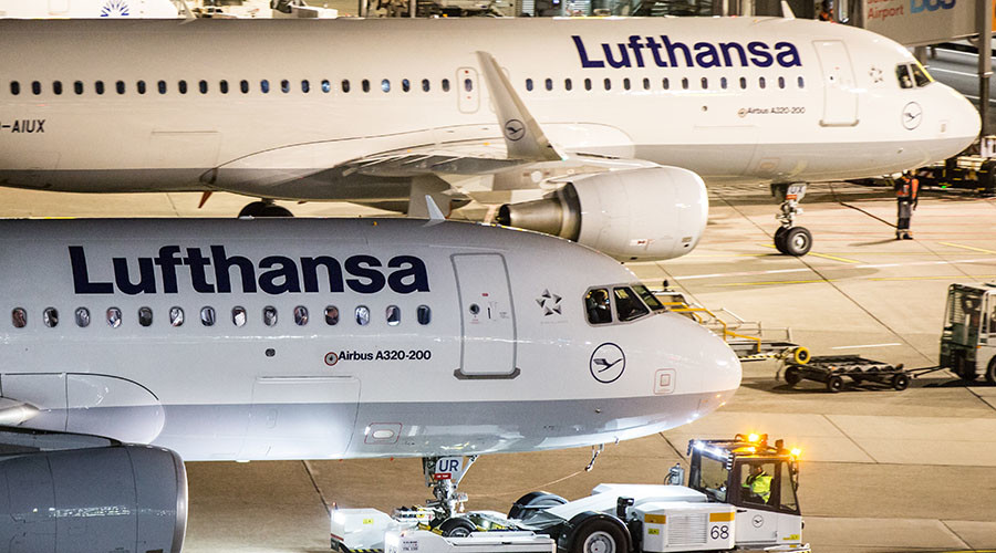 Lufthansa cancels nearly 900 flights as pilots extend strike by further 24 hours