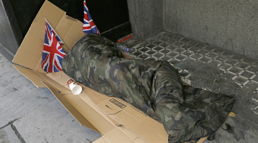 Rough sleeping: Great Britain moves toward criminalizing homelessness