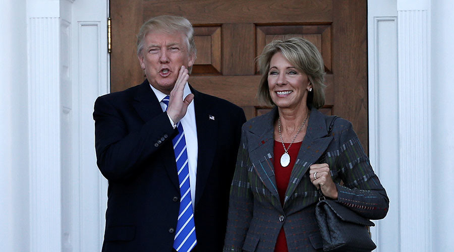 Trump taps Michigan philanthropist Betsy DeVos to be secretary of education