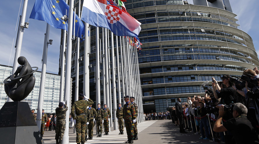 'Dagger pointed at heart of NATO' – US secretary of state contender on EU army
