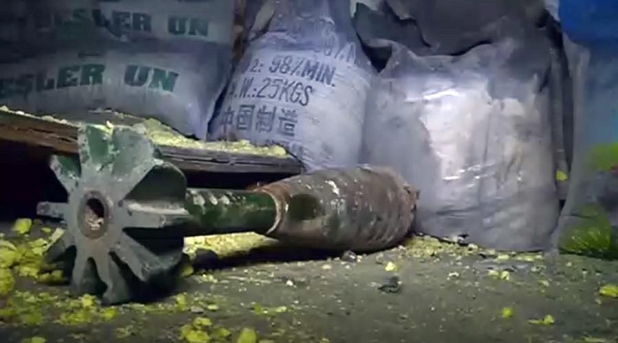 Evidence mustard gas deployed against Aleppo civilians – Russian MoD